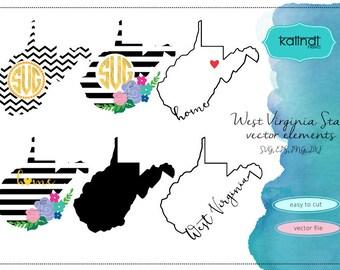 West Virginia svg, West Virginia vector file, West Virginia SVG file, svg, West Virginia  state, West Virginia  silhouette, WV svg  ID#st-wv