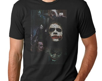 The Joker Movie Quotes Collage T-Shirt (The Dark Knight)