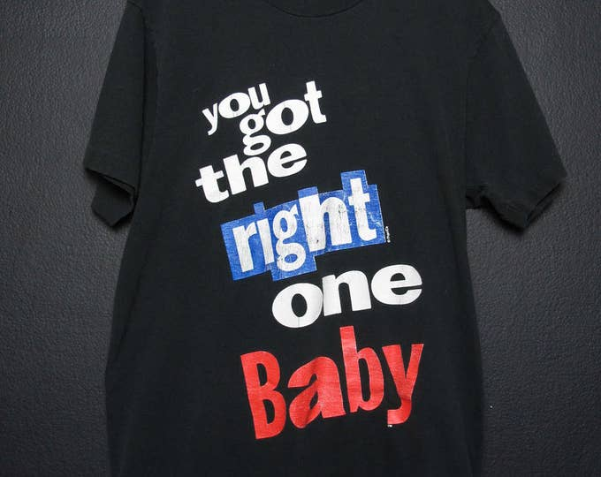 You Got The Right One Baby Pepsi 1990's Vintage Tshirt