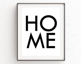 New Home Printable | Quote Prints | Wall Art Prints