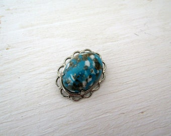 Turquoise Vintage Brooch / Pin / Jewelry