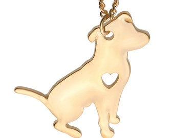 I Love My Pit Bull Necklace