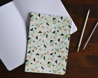 Geometric Coastal | A5 Slim Notebook