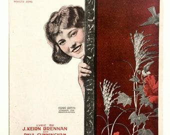 Have A Smile Vintage Sheet Music 1910