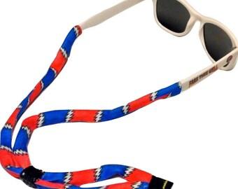 Grateful Dead Croakies Suiters-Eyewear Retainer-Sunglasses Cord