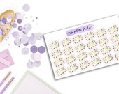 26 cute envelopes stickers! S036