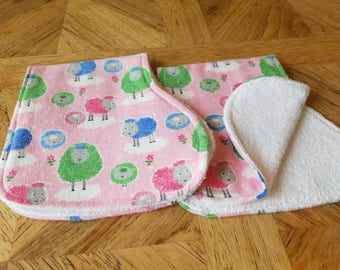 Soft and Absorbent Burp Clothes