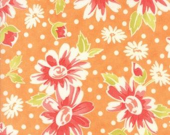 Moda Coney Island Quilt Fabric 1/2 Yard By Fig Tree & Co Orange Sherbert 20280 15