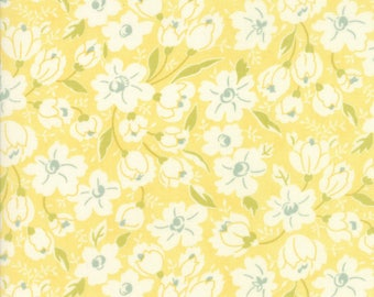 Moda Coney Island Quilt Fabric 1/2 Yard By Fig Tree & Co Buttercup Yellow 20285 14