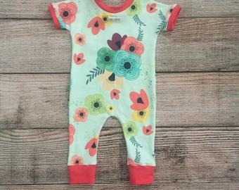 Baby/ Toddler Floral Romper