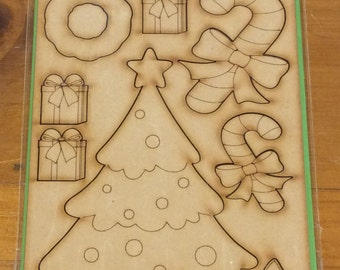 Wooden Fairy Christmas accessories Kit