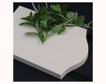 Solid Sycamore Herb Chopping Board FREE SHIPPING