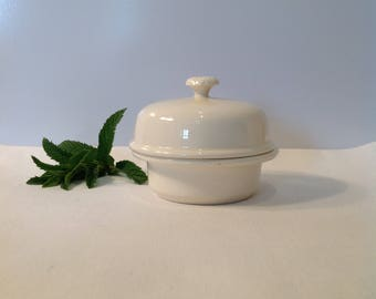 Butter dish or small bowl french butter dish