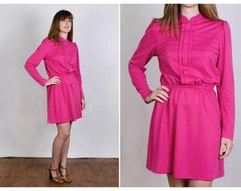 Vintage pink 60s dress