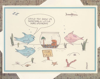 Funny Card, Humor Card, Funny Realtor Card, New House Card, Real Estate Card, Joke Card, Quirky Card, Ocean Card, Nautical