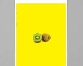 Kiwi Print, Food Print, Fruit Print, Kitchen Wall Art, Fruit Art, Green, Fruit Wall Art, Kiwi Art, Kiwi, Green Print, DIGITAL ART