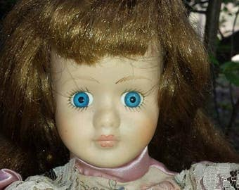 "Haunted Doll Story w/ porcelain doll  ""Regina"" age 26 yrs old"