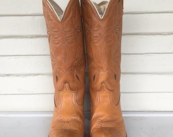 Vintage Dingo 70's Cowboy Boots