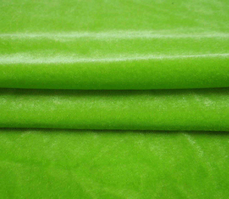 decorative velvet fabric green fabric stretchy velvet
