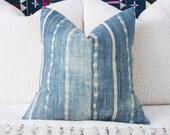 African Indigo Pillow Cover 20x20