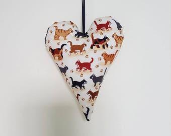 Kitty heart decoration