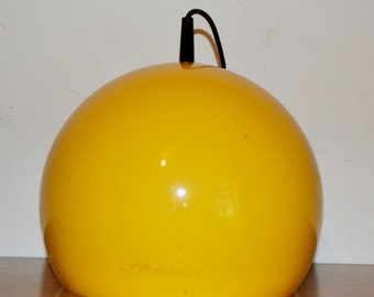 Neumann vintage space age hanging lamp 70s