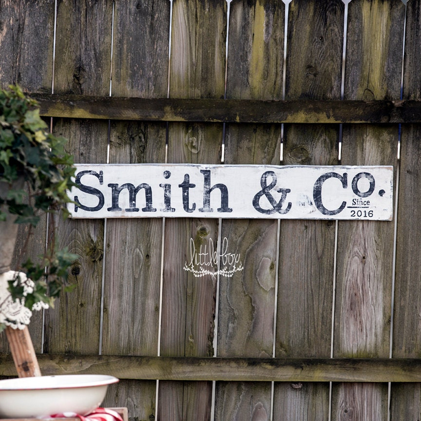 Rustic home decor name sign rustic personalized wedding for Home decor names