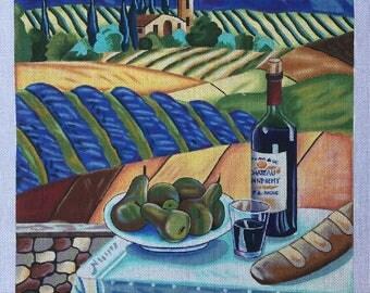 "Handpainted Needlepoint Ronda Ahrens AR229 ""Landscape II"""