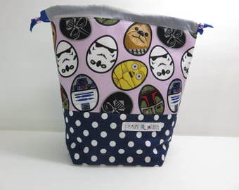 Sock Project Bag // Emily Sack // A Very Star Wars Easter