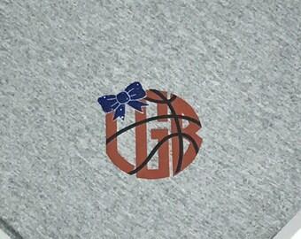 Basketball Blanket Etsy