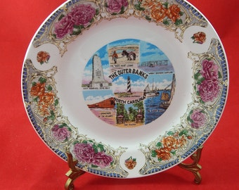 Vintage Collectors Plate Outer Banks