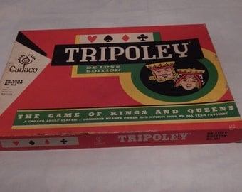 Vintage Game of Tripoley 1965