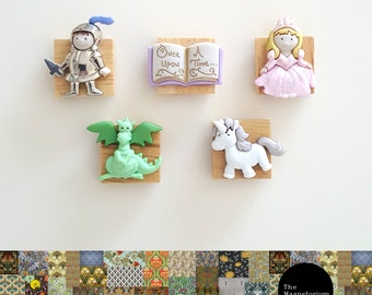 Once Upon a Time Fridge Magnet Set