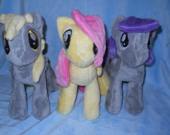 My Little Pony plush collectibles