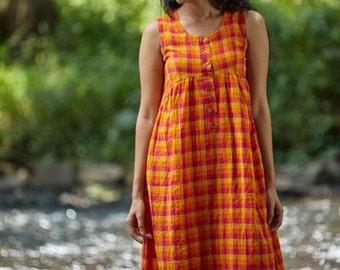 Wildflower Button Dress