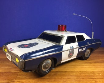 Friction Police Car