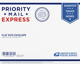 PRIORITY MAIL EXPRESS Shipping Only