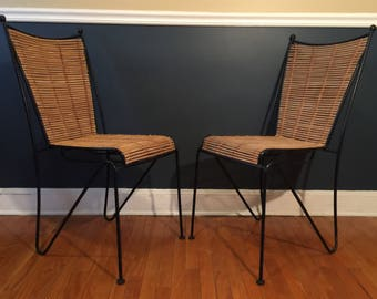 Frederick Weinberg Metal Chairs