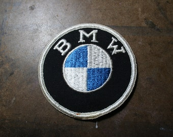 Vintage BMW Circle Sew-on/Iron-on Patch
