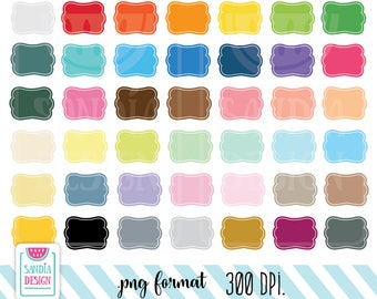 42 Frames Clipart. Personal and comercial use.