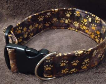 Dog Collar Dog Print Tied-Dye Martingale Dog Collar Buckle Dog Collar Dog Fabric Collar Dog Collar Best Friend Bracelet