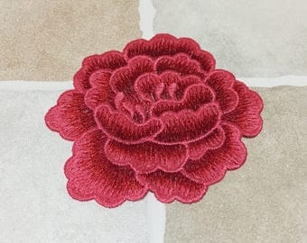 Embroidery Flower Patch Sew On
