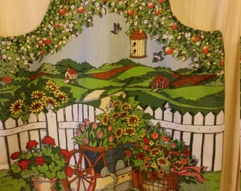 Ladies Full Apron / Garden Print
