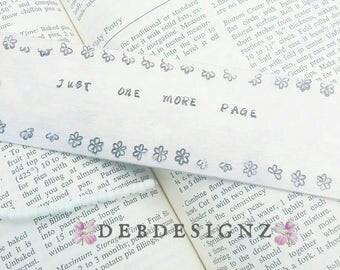 Aluminum Handstamped Bookmark