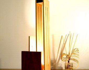 XIBANO    Lamp in Beech and polished Sipo