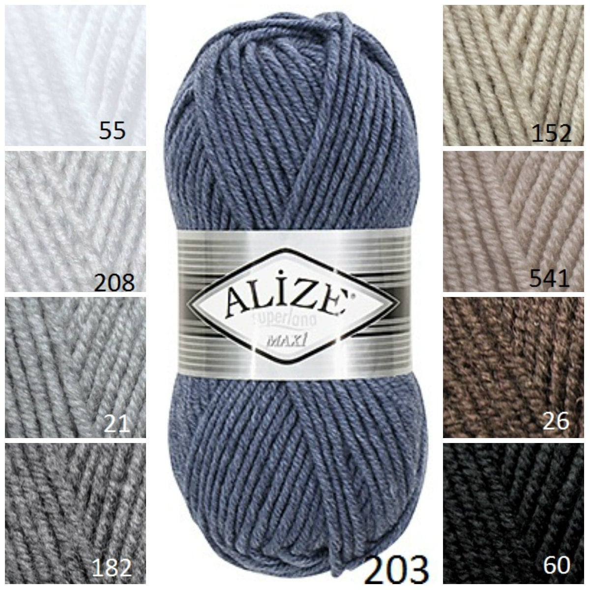 Knitting Supplies Canada : Alİze maxİ classic yarn hat knitting supplies