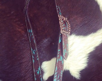 SALE PENDING Tularosa Belt Headstall