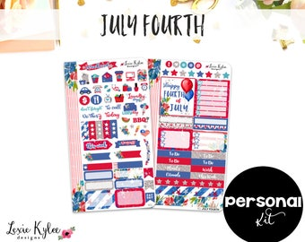 Final Stock PERSONAL Kit  ||  July Fourth [402]