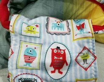 Child / toddle monster messenger bag