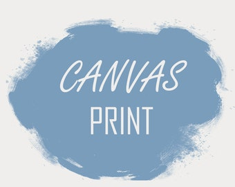 Canvas Printing. Attention on canvas size (dimension)